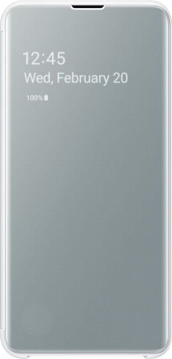 Clear view cover White Hülle Samsung 798630400000 Bild Nr. 1