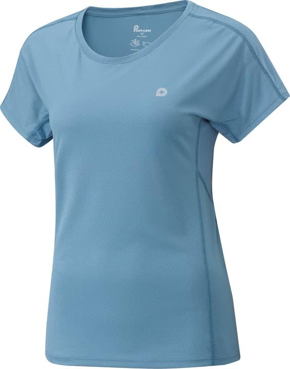 Damen-T-Shirt Perform 470185104447 Farbe denim Grösse 44 Bild-Nr. 1