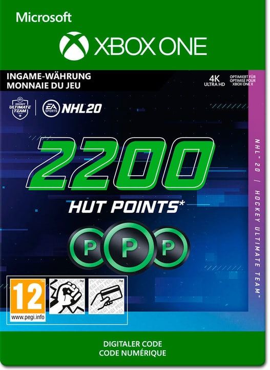 Xbox One - NHL 20 Ultimate Team: 2200 HUT Points Download (ESD) 785300147133 Photo no. 1