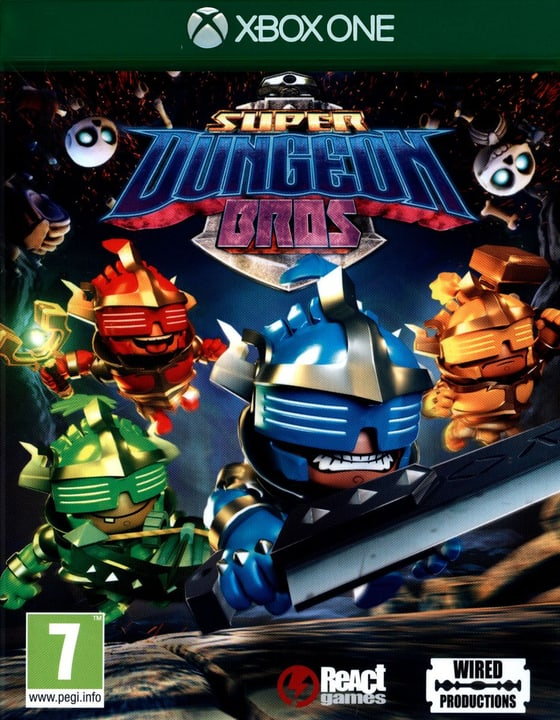 Xbox One - Super Dungeon Bros. Physisch (Box) 785300121861 Bild Nr. 1