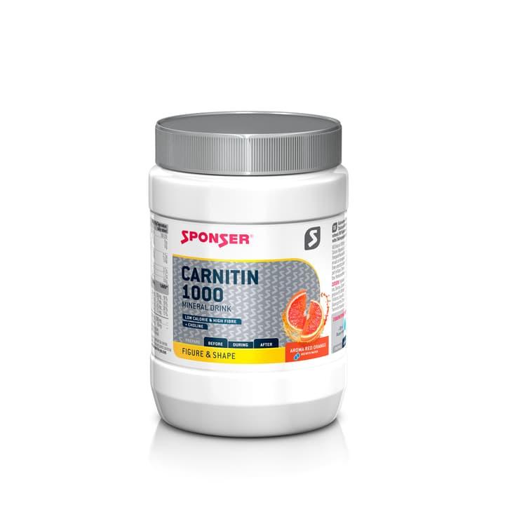 L-Carnitin 1000 Mineraldrink Polvere 400 g Sponser 491986400000 N. figura 1