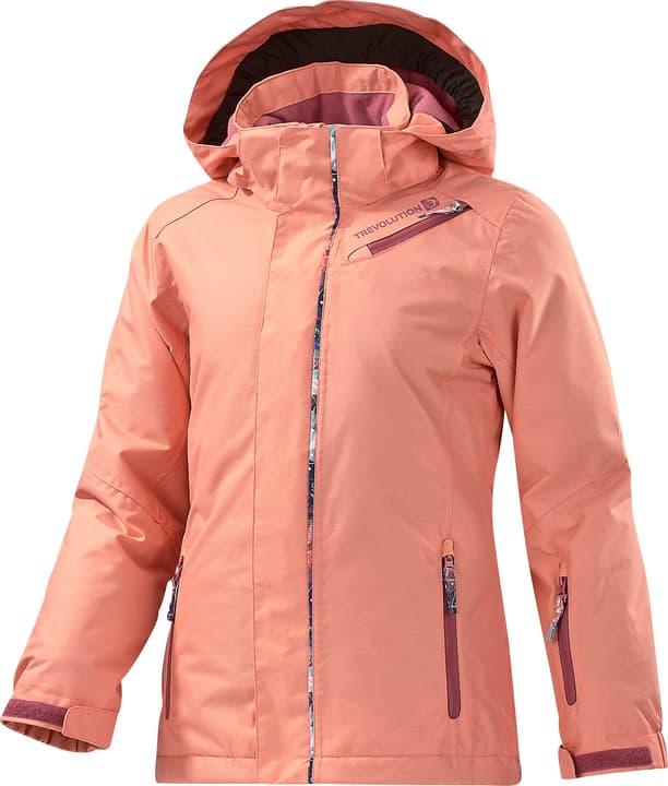 Mädchen-Snowboardjacke Trevolution 464569712852 Farbe lachs Grösse 128 Bild-Nr. 1