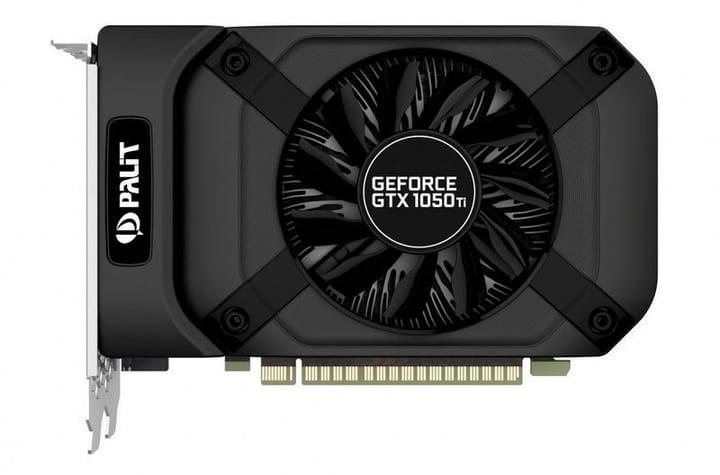 GeForce GTX 1050 Ti StormX 4GB Card graphique Palit 785300149983 Photo no. 1