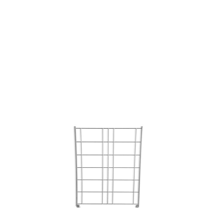 ZILO Seitenteil 362020861606 Grösse B: 38.0 cm x T: 2.0 cm x H: 80.0 cm Farbe Silberfarben Bild Nr. 1