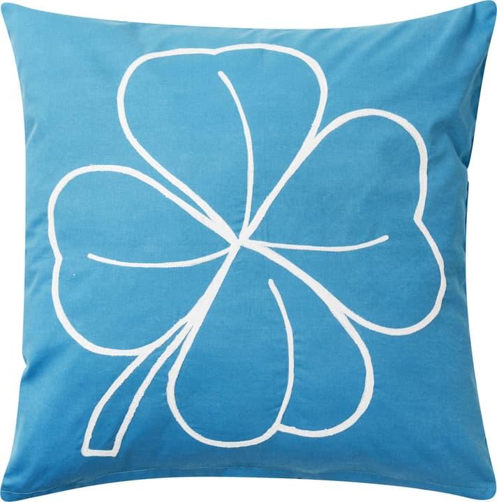LINU Zierkissen 450751640840 Farbe Blau Grösse B: 45.0 cm x H: 45.0 cm Bild Nr. 1