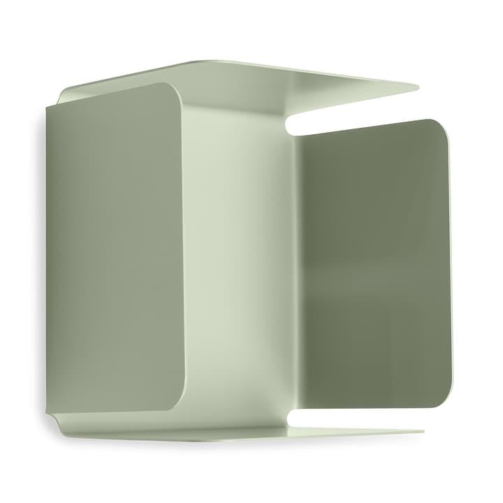EVELINA Scaffale a muro 362245702060 Dimensioni L: 12.8 cm x P: 20.0 cm x A: 20.0 cm Colore Verde N. figura 1