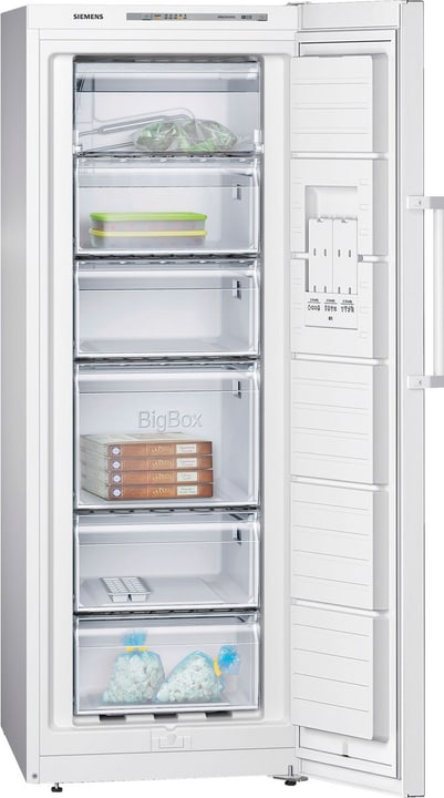GS29VVW31 Congelatore Congelatore Siemens 785300122713 N. figura 1