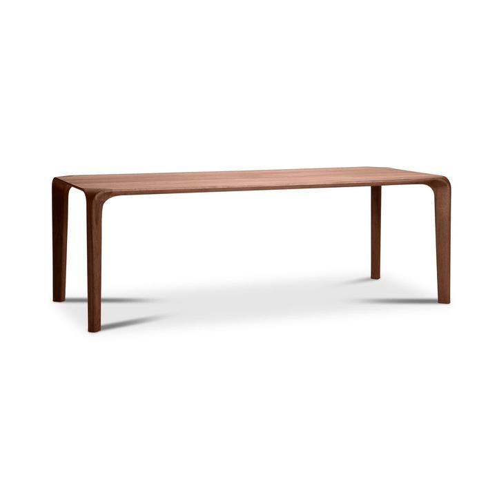 FLOW Tisch 366030125701 Grösse B: 240.0 cm x T: 95.0 cm x H: 75.0 cm Farbe Nussbaum Bild Nr. 1
