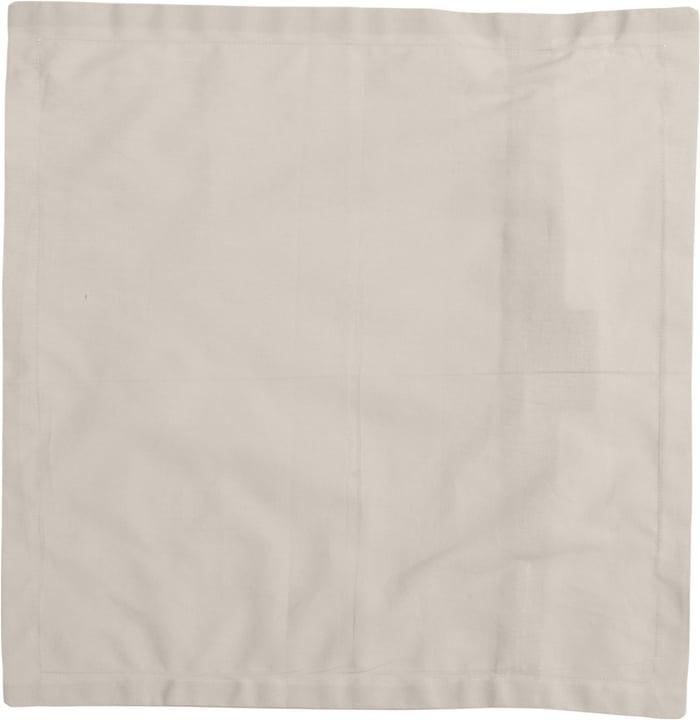 LUISA Zierkissenhülle 450725540074 Farbe Beige Grösse B: 40.0 cm x H: 40.0 cm Bild Nr. 1