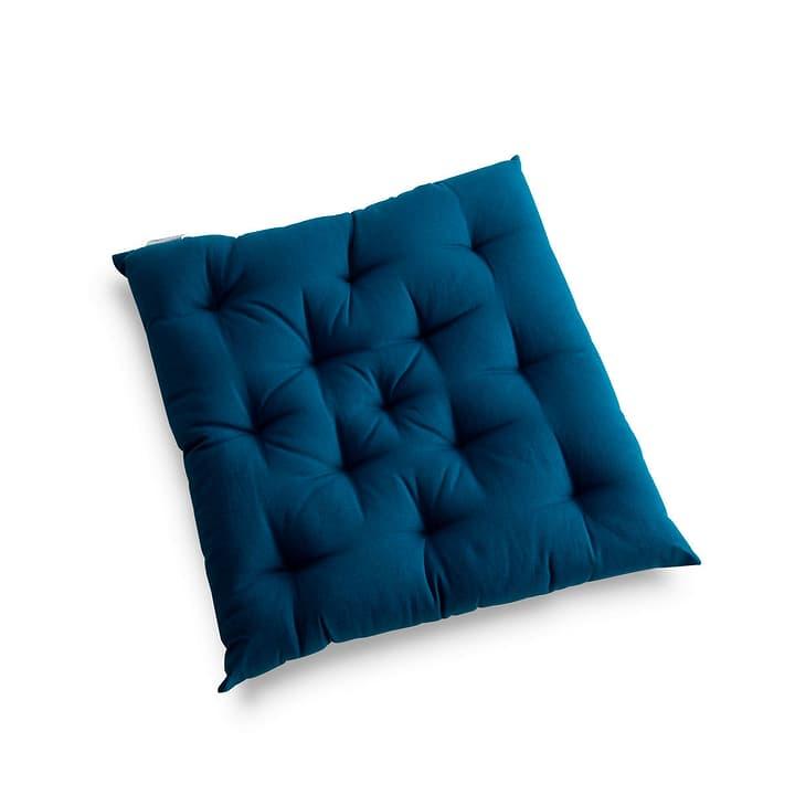 TABORA Coussin d'assise 378035800000 Couleur Bleu Dimensions L: 40.0 cm x P: 40.0 cm Photo no. 1