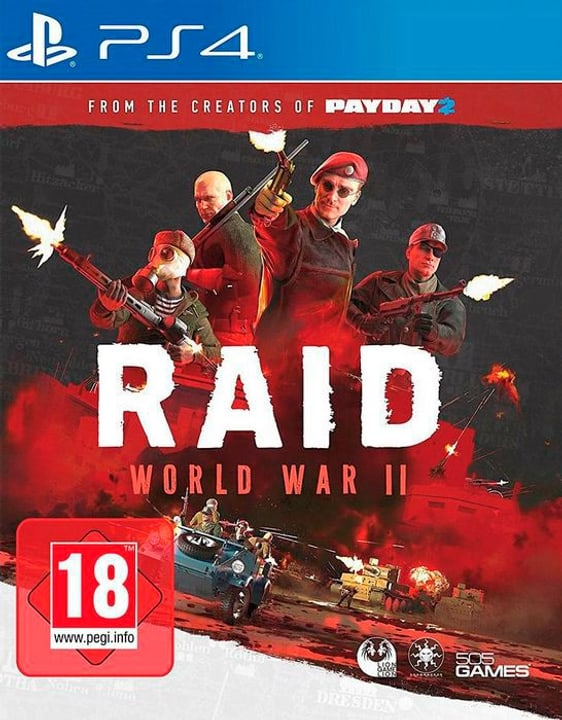 PS4 - World War II D 785300130281 N. figura 1