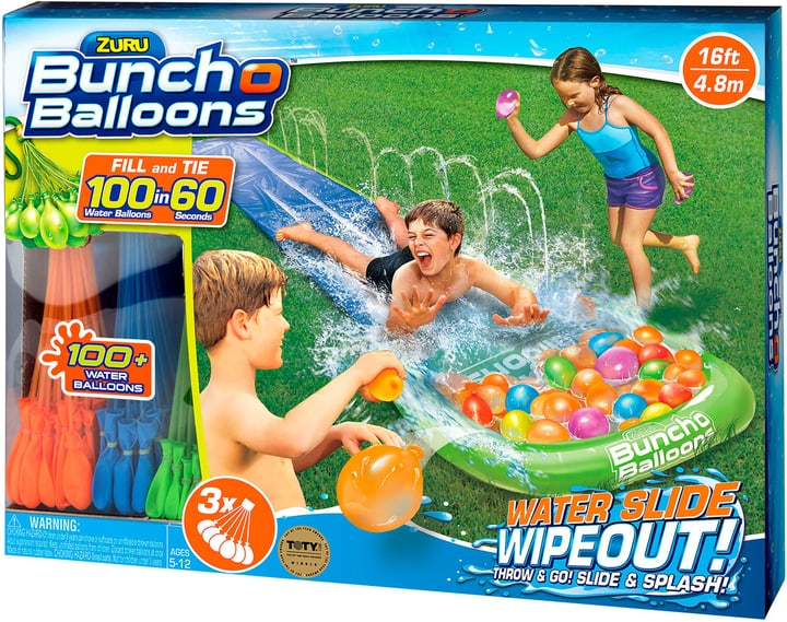 Bunch O Balloons Water Slide Small + 3 Bunches 4.8m slide 743338300000 N. figura 1