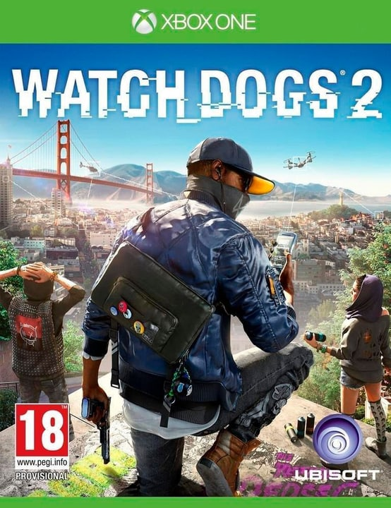 Xbox One - Watch Dogs 2 Box 785300121317 N. figura 1