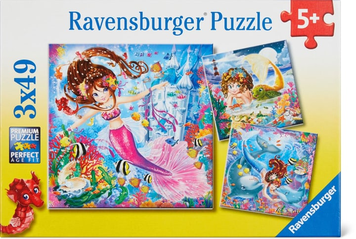 Sirene Ravensburger Puzzle 748977000000 N. figura 1