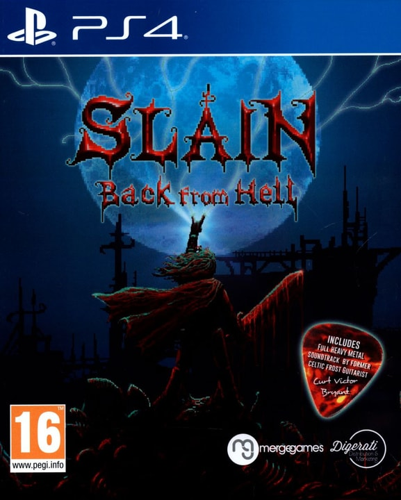PS4 - Slain Back from Hell Physisch (Box) 785300121851 Bild Nr. 1