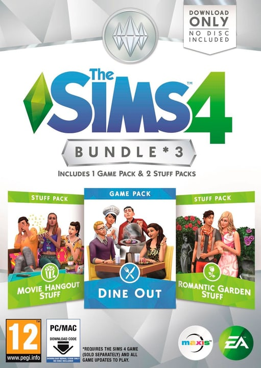 PC/ Mac - The Sims 4 Bundle 3 Physique (Box) 785300121156 Photo no. 1
