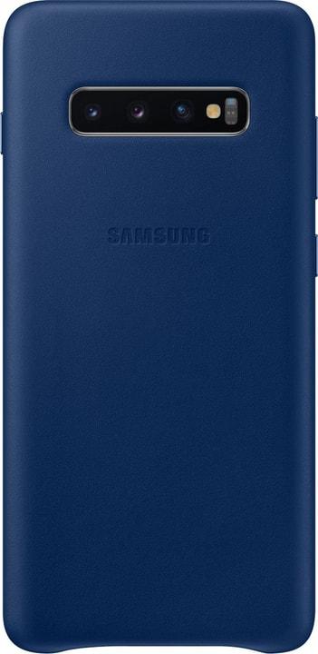 Leather Cover Navy Custodia Samsung 785300142485 N. figura 1