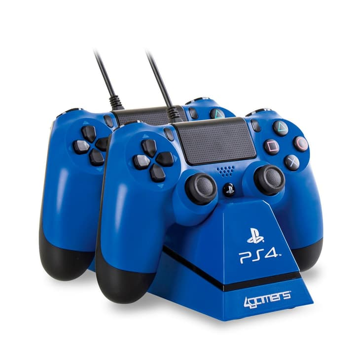 Charge Play & Charge avec Desktop Stand bleu Station de recharge 4gamers 785300124156 Photo no. 1
