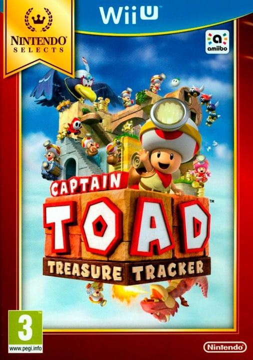 Wii U - Nintendo Selects: Captain Toad Treasure 785300122218 Photo no. 1