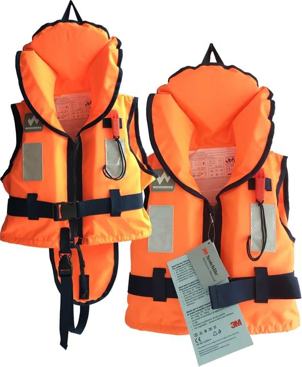 Gilet de sauvetage 20-30kg Weissberg 464702000234 Couleur orange Taille XS Photo no. 1