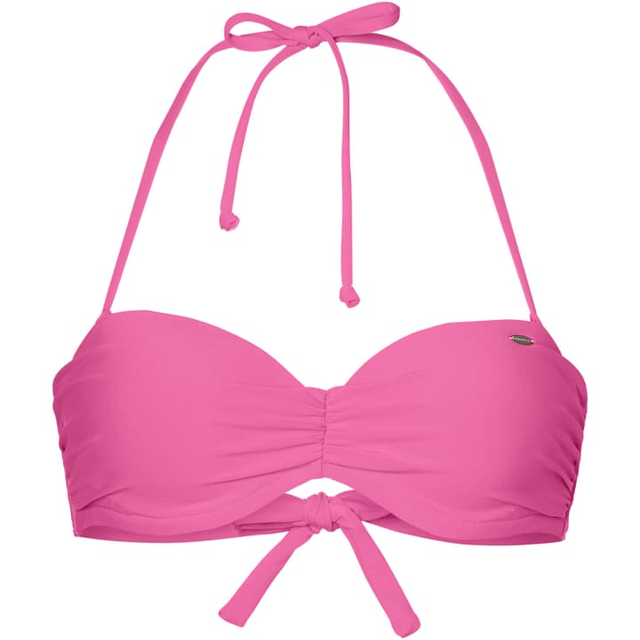 PW MOLDED WIRE BANDEAU TOP Bikini pour femme O'Neill 463108603629 Couleur magenta Taille 36 Photo no. 1