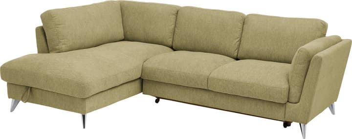 DEGONDA Canapé d'angle 405742250960 Couleur Vert Dimensions L: 261.0 cm x P: 180.0 cm x H: 81.0 cm Photo no. 1