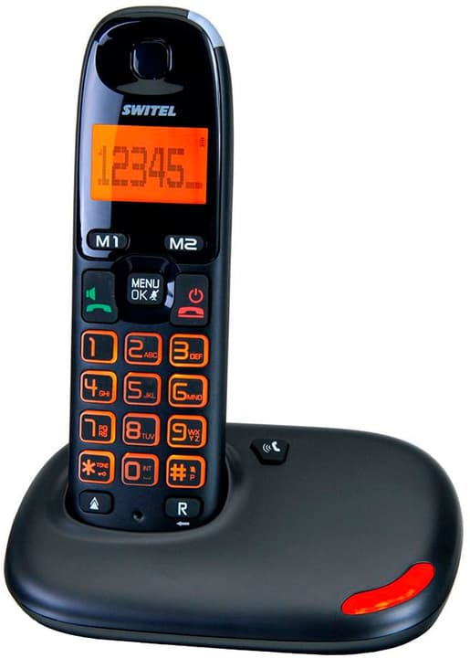 DC5001 VITA noir Téléphone fixe Switel 785300126766 Photo no. 1