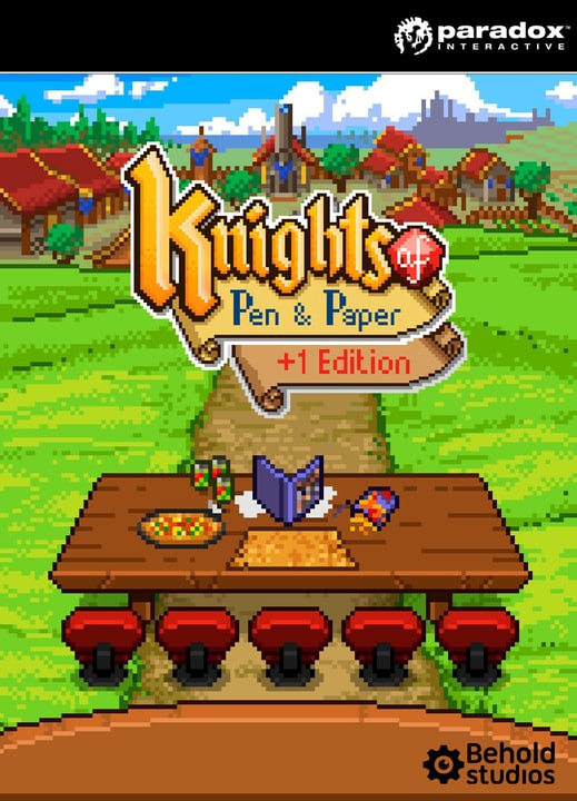 PC Knights of Pen and Paper + 1 Delux Ed Digitale (ESD) 785300133368 N. figura 1