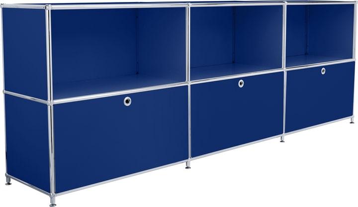 FLEXCUBE Buffet 401809600040 Dimensions L: 227.0 cm x P: 40.0 cm x H: 80.5 cm Couleur Bleu Photo no. 1