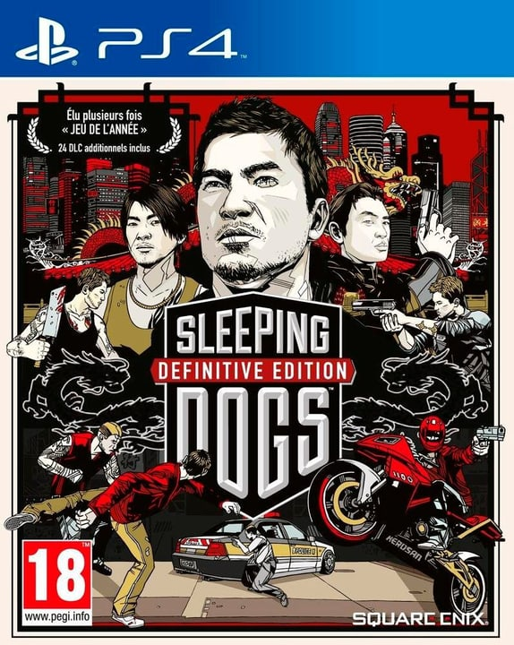 PS4 - Sleeping Dogs Definitive Edition Physisch (Box) 785300121706 Bild Nr. 1
