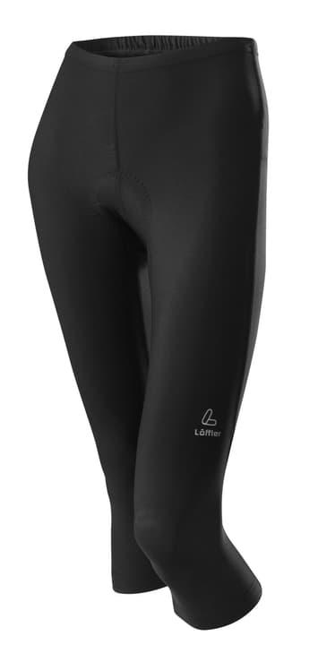 Basic Pantalon ¾ pour femme Löffler 494075903620 Couleur noir Taille 36 Photo no. 1