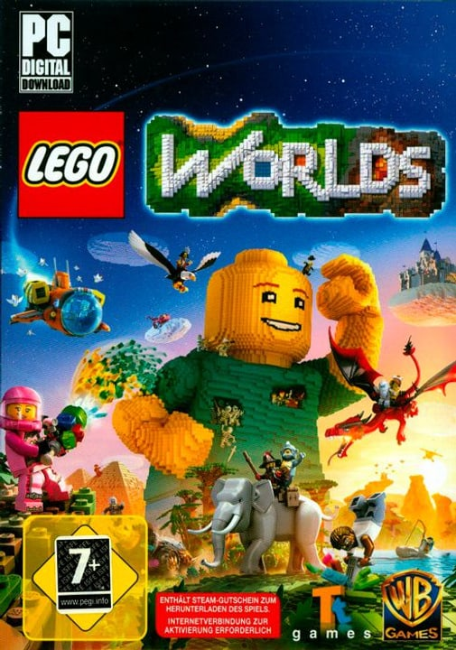 PC - LEGO Worlds Physique (Box) 785300121632 Photo no. 1