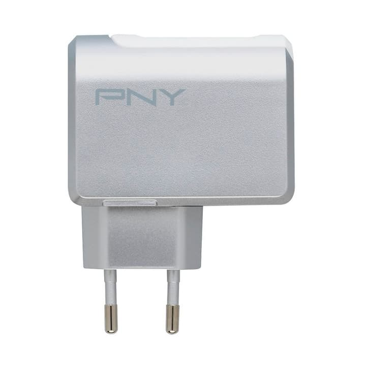 Fast Charger EU USB Caricabatterie bianco Caricabatterie PNY Technologies 798200600000 N. figura 1