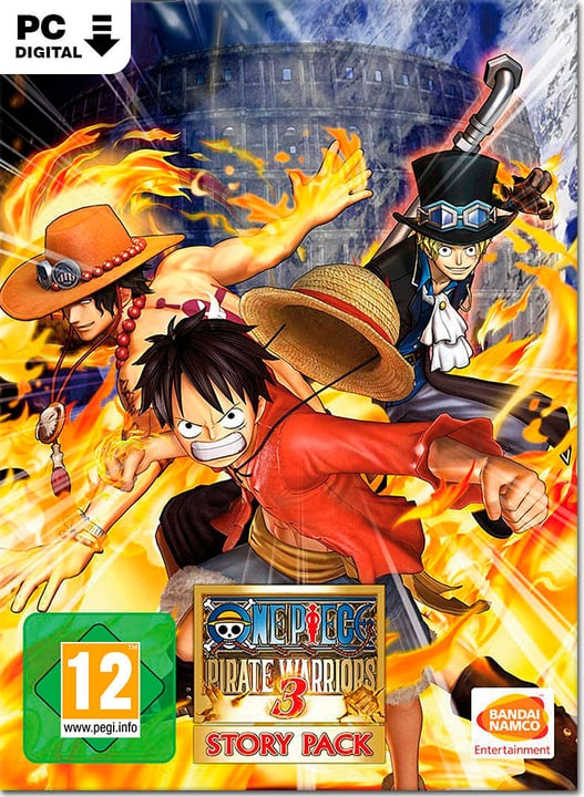 PC - One Piece: Pirate Warriors 3 - Story Pack DLC - D/F/I Download (ESD) 785300134384 Photo no. 1