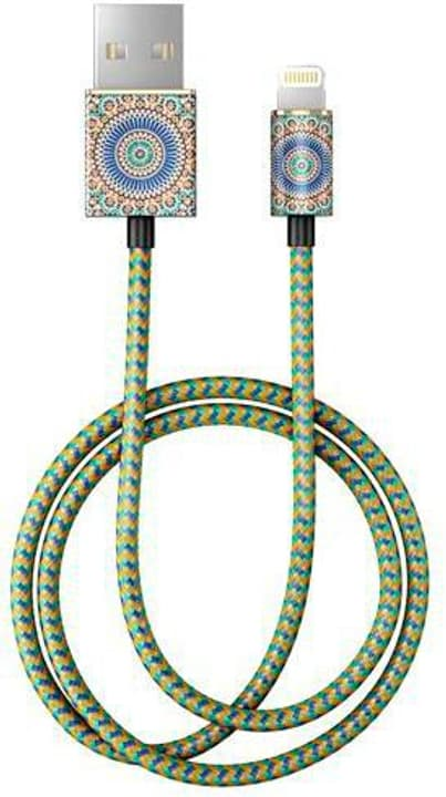 "Kabel 1.0m, Lightning->USB  ""Moroccan Zellige"" Kabel iDeal of Sweden 785300148078 Bild Nr. 1"