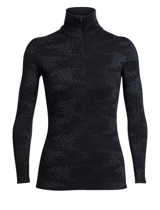 Vertex Flurry Veste polaire pour femme Icebreaker 462763500320 Couleur noir Taille S Photo no. 1