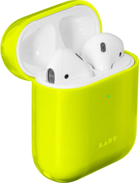Crystal-X for AirPods - Acid yellow Case Laut 785300150423 Photo no. 1