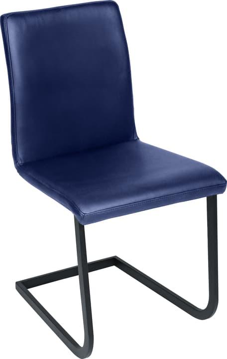 SANTORO Freischwingerstuhl 402355700040 Grösse B: 43.0 cm x T: 55.0 cm x H: 86.0 cm Farbe Blau Bild Nr. 1