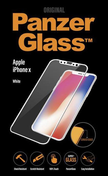 Premium iPhone X - blanche Panzerglass 798099100000 Photo no. 1