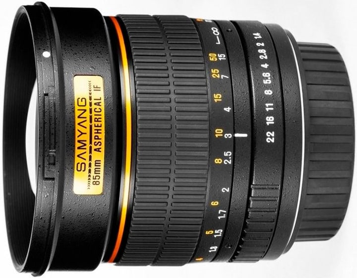 85mm / 1.4 IF Aspherical (Canon) Objektiv Samyang 785300125116 Bild Nr. 1