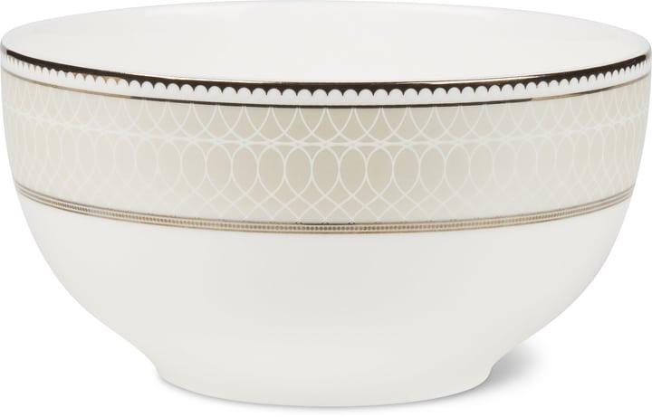 NOBLESSE Müslischale Cucina & Tavola 700160400003 Farbe Weiss / Silber Grösse H: 7.0 cm Bild Nr. 1