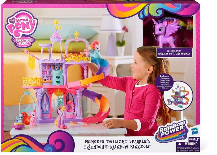 W14 MY LITTLE PONY REGENBOGENSCHLOSS My Little Pony 74648840000014 Bild Nr. 1