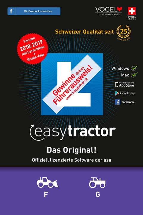 tractor 2018/19 [Kat. F/G] [PC/Mac] (D/F/I) Software 785300134692 Bild Nr. 1