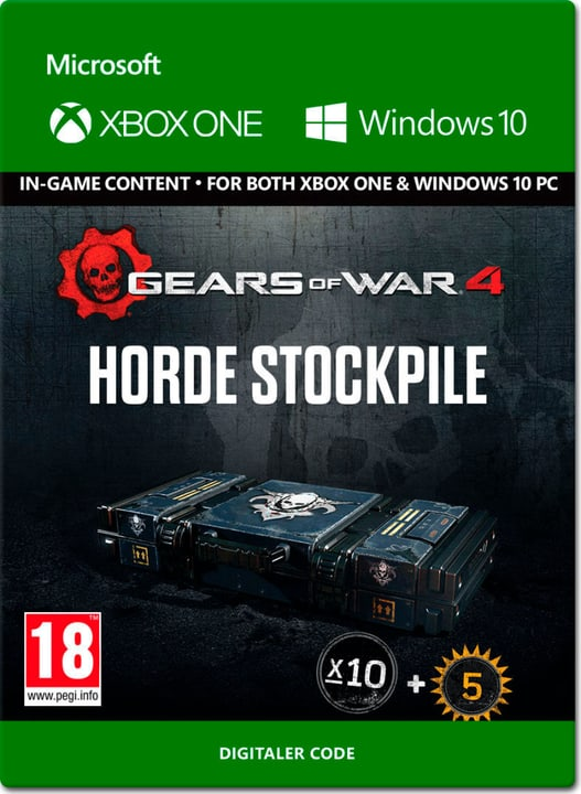Xbox One - Gears of War 4: Horde Stockpile Digital (ESD) 785300137326 N. figura 1