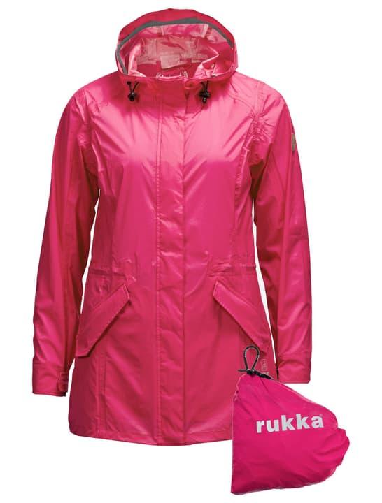 Elenor Veste de pluie pour femme Rukka 498430203429 Couleur magenta Taille 34 Photo no. 1