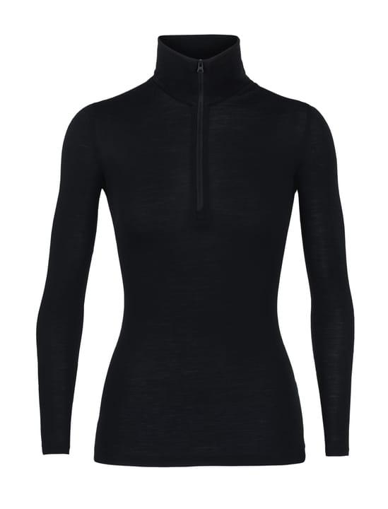 Everyday Half Zip 175 Maillot à manches longues pour femme Icebreaker 477079200220 Couleur noir Taille XS Photo no. 1