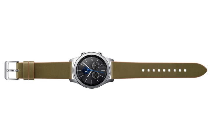 Gear S3 Clas. Leather Band olive Bracelet Samsung 785300126296 Photo no. 1