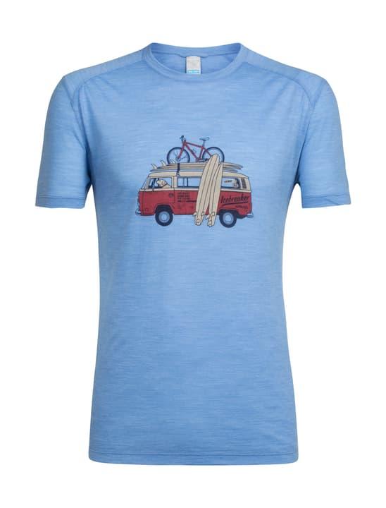 Spehere Van Surf Life Maillot à manches courtes pour homme Icebreaker 462784600741 Couleur bleu claire Taille XXL Photo no. 1