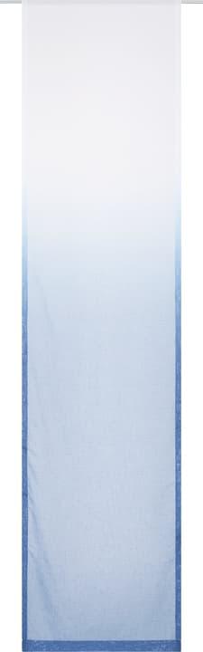OMBRA Flächenvorhang 430582030440 Farbe Blau Grösse B: 60.0 cm x H: 245.0 cm Bild Nr. 1