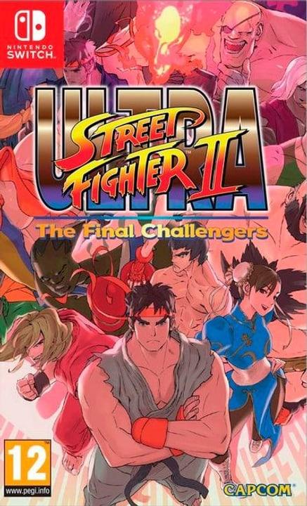 Switch - Ultra Street Fighter II: The Final Challengers Box 785300122271 Sprache Deutsch Plattform Nintendo Switch Bild Nr. 1